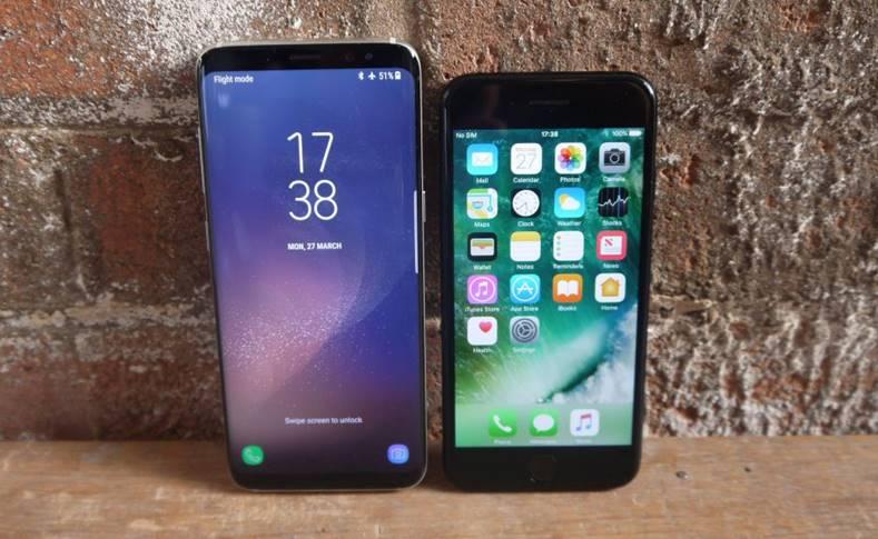 samsung galaxy s8 umbra iphone-7