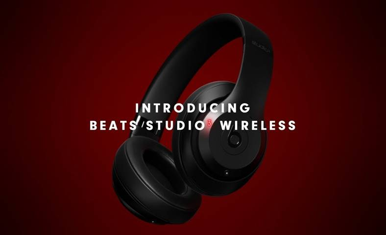 Apple casti Beats Studio3 Wireless