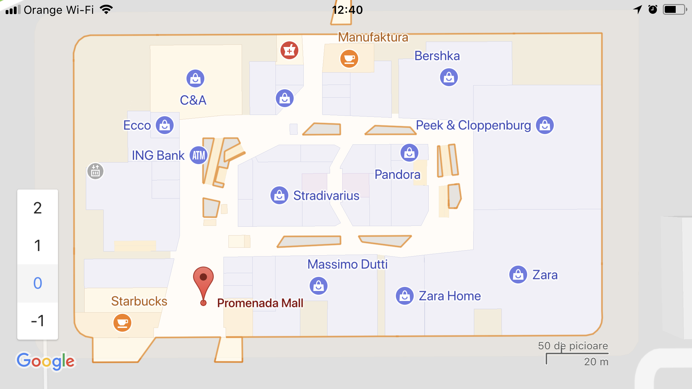 Google Maps Lansat Indoor Romania