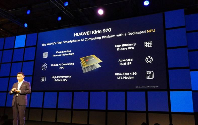 Huawei Anuntat Procesorul cu Inteligenta Artificiala