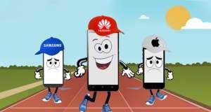 Huawei Depasit Apple Vanzari Telefoane