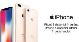 Lansarea iPhone 8 iPhone X eMAG