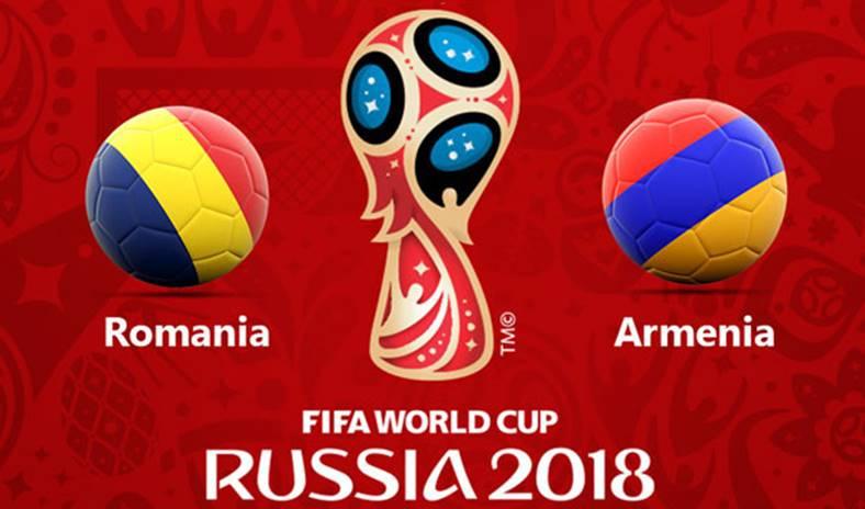 Romania - Armenia Fotbal LIVE online la TVR 1
