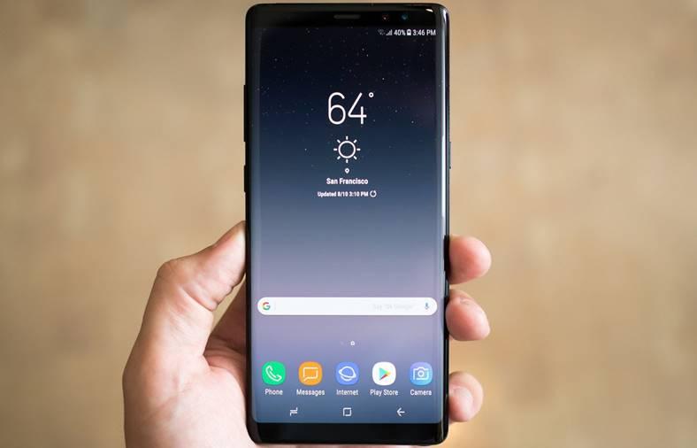 Samsung Galaxy Note 8 Pacalit Selfie