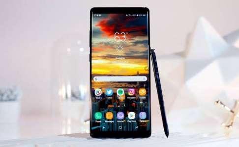 Samsung Galaxy Note 8 – Vanzari Reduse de iPhone X