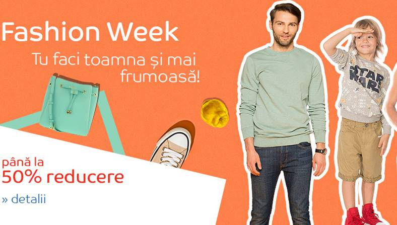 eMAG Fashion Week Reduceri Haine 6 septembrie