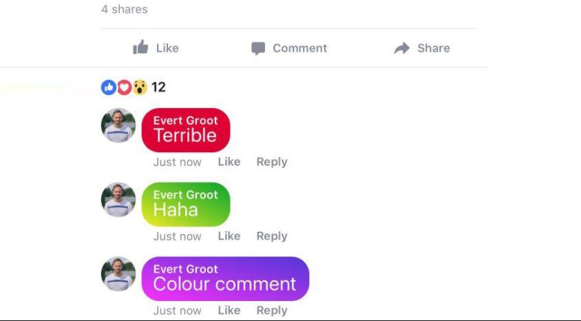 facebook schimbare comentarii