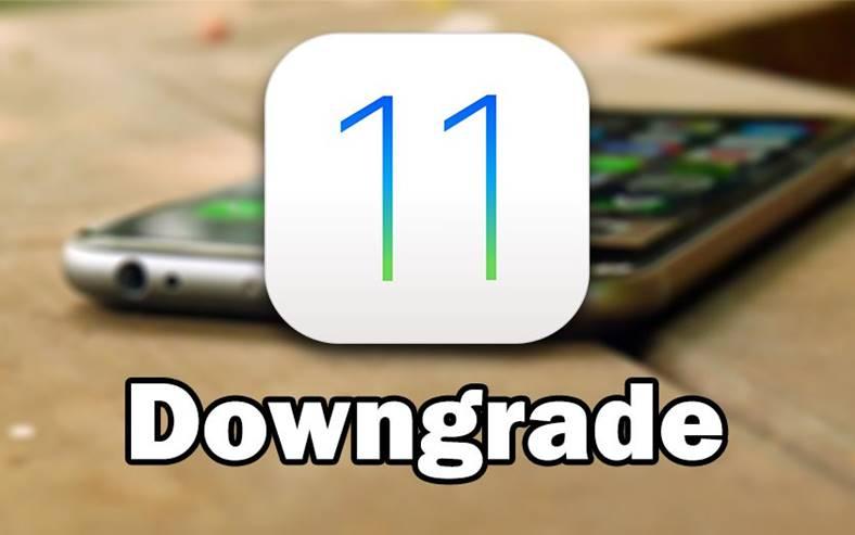 iOS 11 Downgrade iOS 10.3.3 iPhone iPad