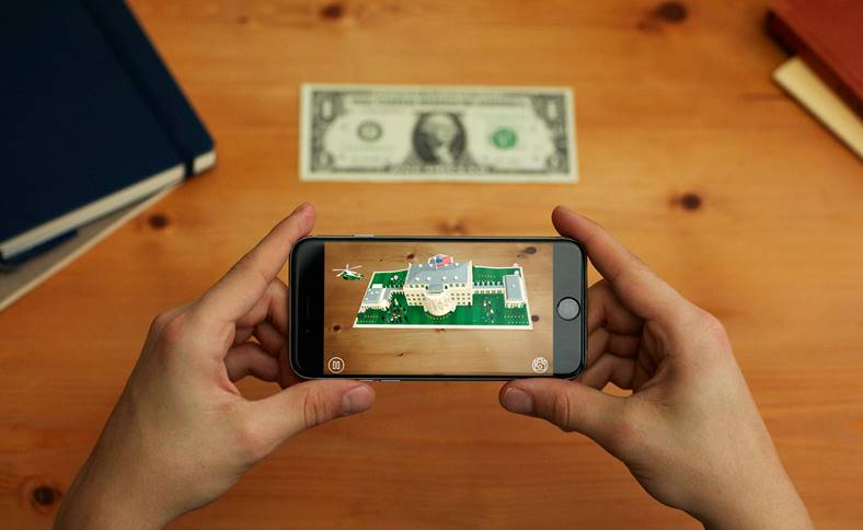 iOS 11 Jocuri Aplicatii Realitate Augmentata