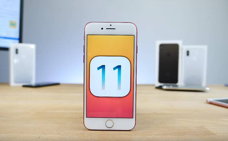 iOS 11 LANSAT iPhone iPad