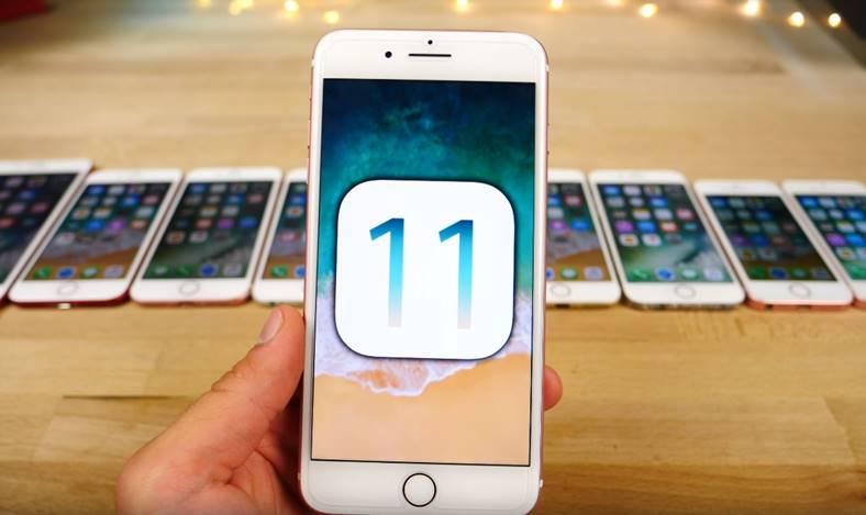 iOS 11 beta 10 performante iOS 10.3.3