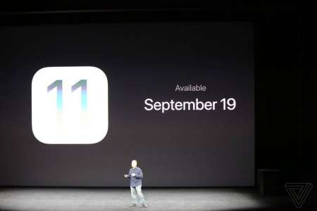 iOS 11 data lansare Apple