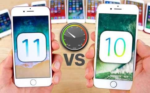 iOS 11 vs iOS 10.3.3 – Comparatia Performantelor pe iPhone