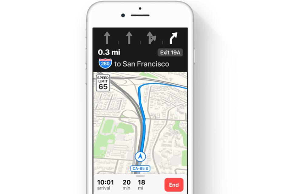 iOS 11 noutati Apple Maps