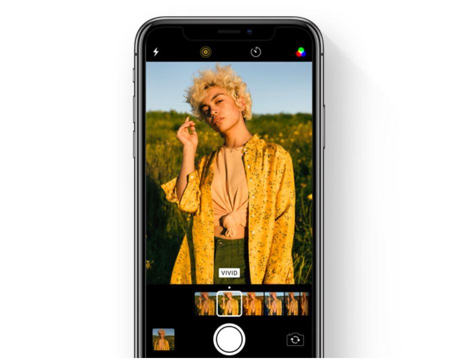 iOS 11 noutati filtre camera