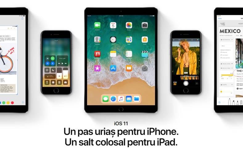 iOS 11 noutati iPhone iPad
