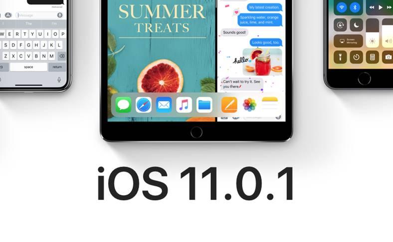 iOS 11.0.1 impresii iphone ipad