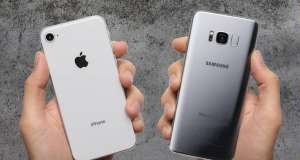 iPhone 8 Galaxy S8 Drop Test VIDEO