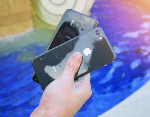 iPhone 8 Galaxy S8 Rezistenta Apa