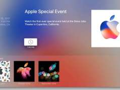 iPhone 8 Live Stream Prezentare Apple TV