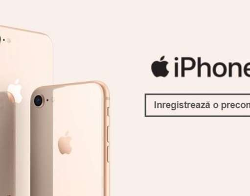 iPhone 8 PRET eMAG Orange Vodafone