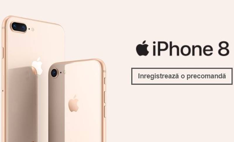iPhone 8 PRET eMAG Orange Vodafone