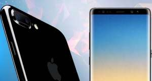 iPhone 8 Plus Galaxy Note 8 Drop Test (VIDEO)
