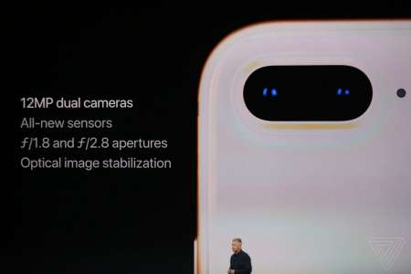 iPhone 8 Plus camera noua