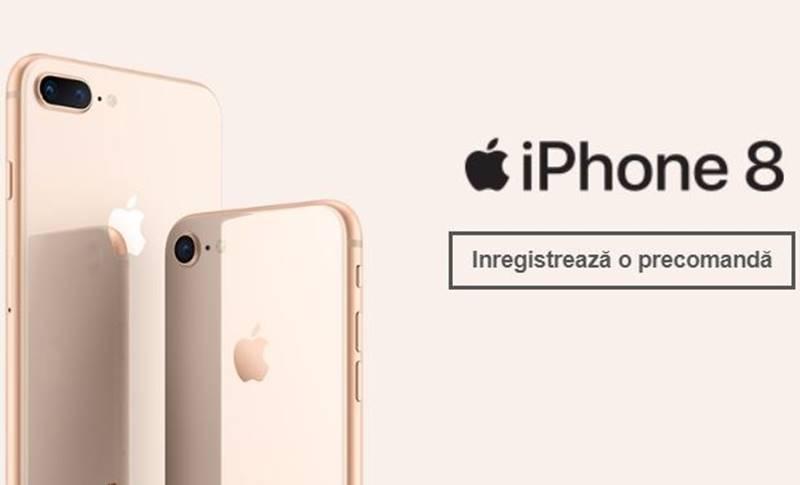 iPhone 8 Precomanda Livrare Lansare