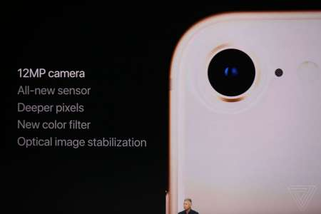 iPhone 8 camera noua