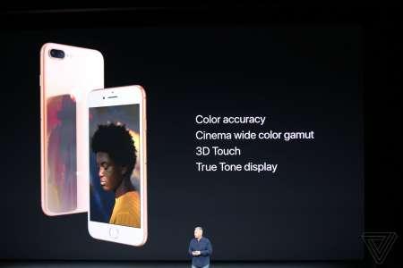 iPhone 8 ecran culori