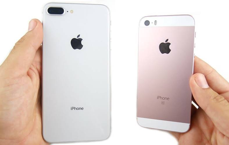 iPhone 8 iPhone SE Comparatia Performante