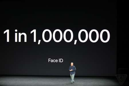 iPhone X Face ID acuratete