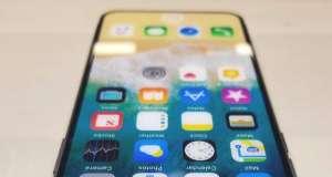 iPhone X Functia iOS 11 Protejeaza Ecran