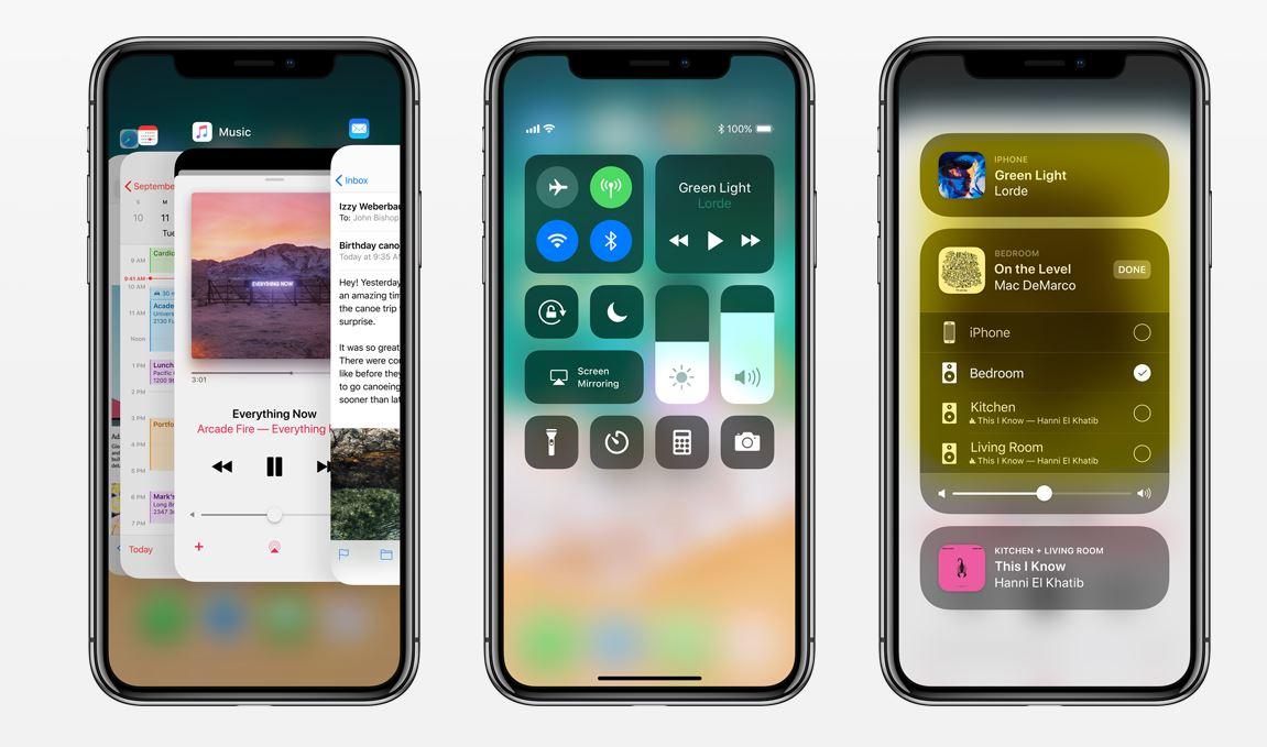 iPhone X Functie iOS 11.1