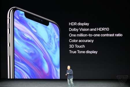 iPhone X HDR Super Retina Dispaly
