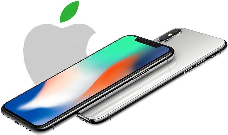 iPhone X Poluant Apple