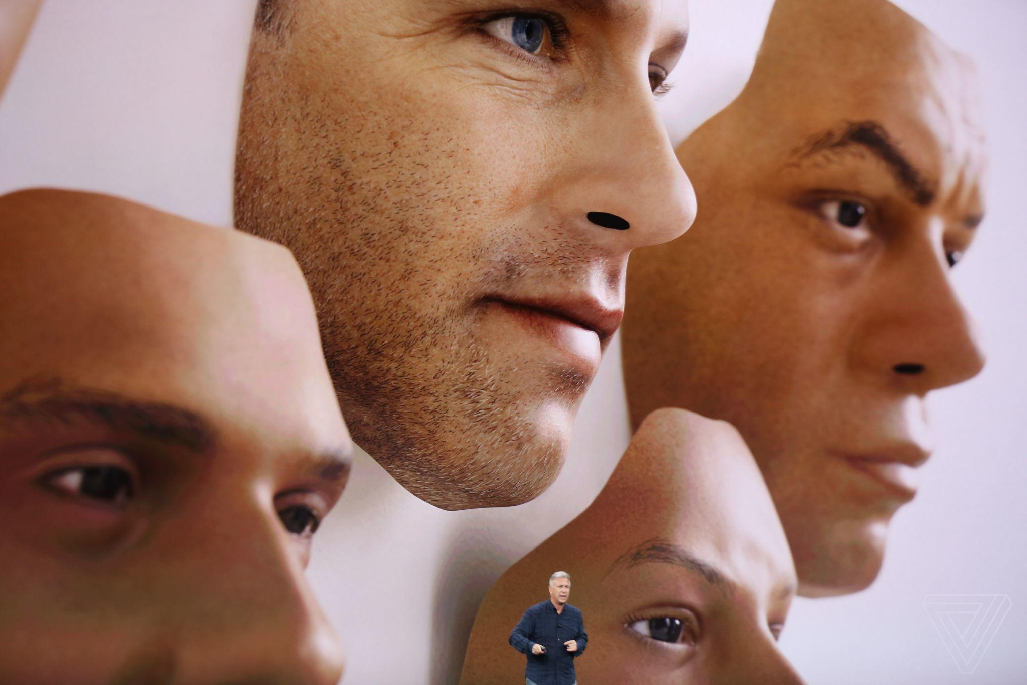 iPhone X camera 3D Face ID