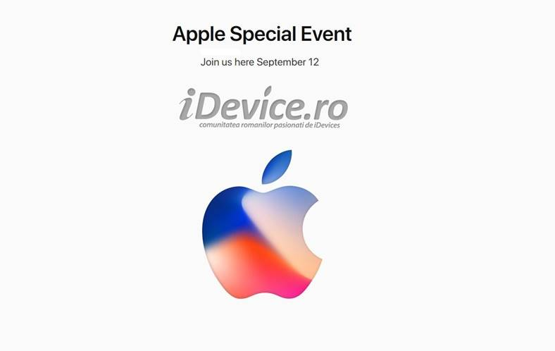iPhone X iPhone 8 LIVE PREZENTARE iPhone, Windows Android Apple TV