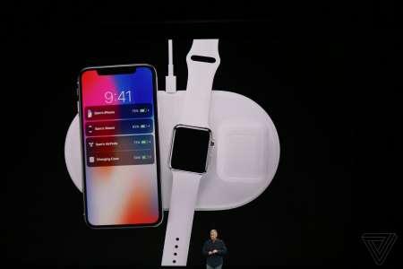 iPhone X incarcare wireless