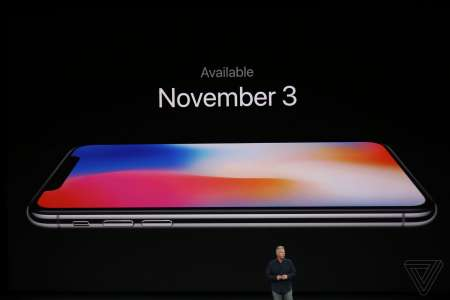 iPhone X lansare 3 noiembrie