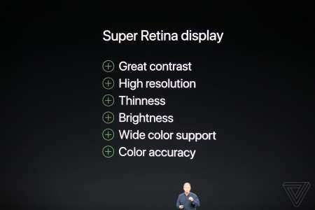 iPhone X noutati SUper Retina Display