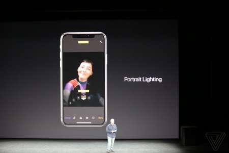 iPhone X portret Lighting