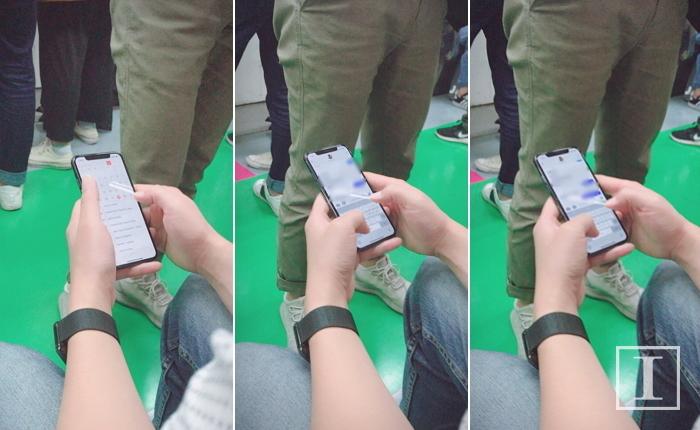 iPhone X testat public