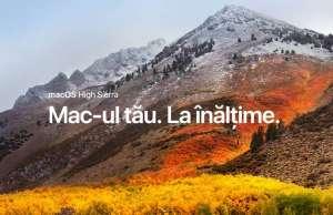 macOS High Sierra LANSAT Apple