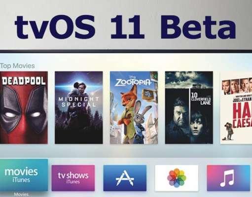 tvOS 11 beta 10