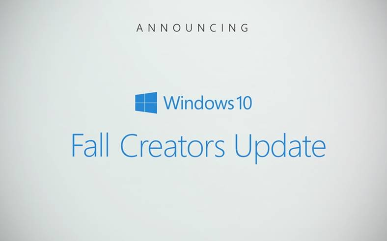 windows 10 lansarea fall creators update