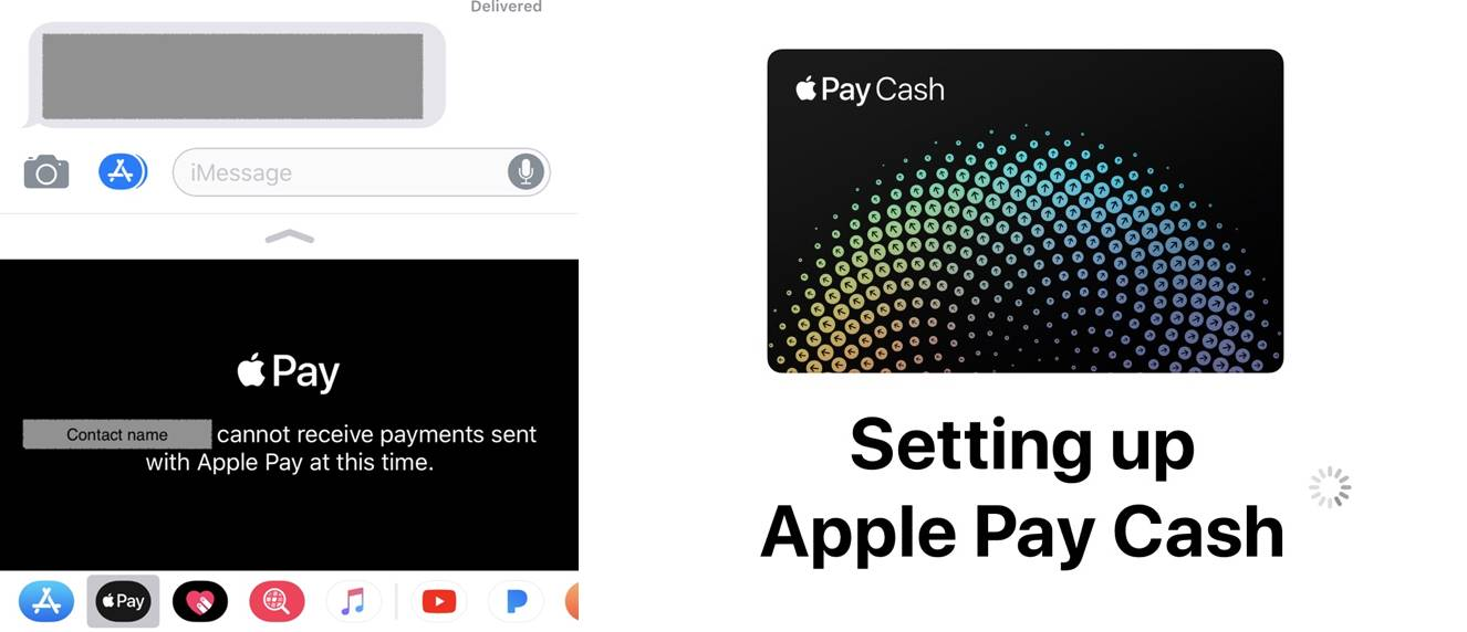 Apple Pay Cash iOS 11.1