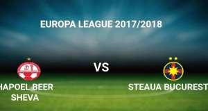 Beer Sheva - Steaua PRO TV live online