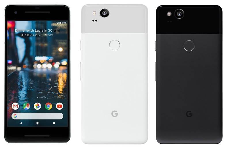 Google Pixel 2 Design Imagini Oficiale